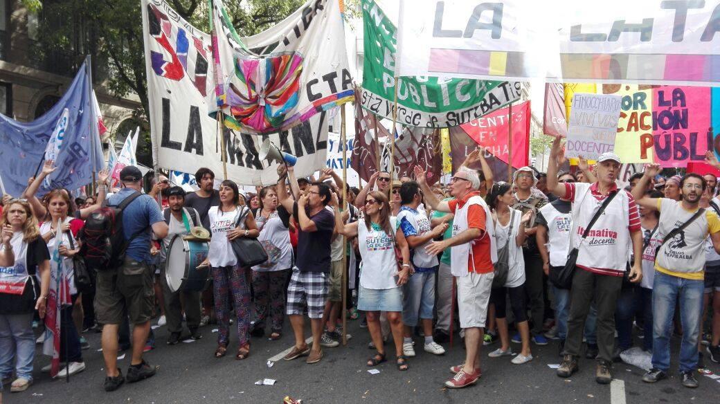 La oposición a Baradel desconoce el acuerdo con Kicillof y convoca a protestar el lunes
