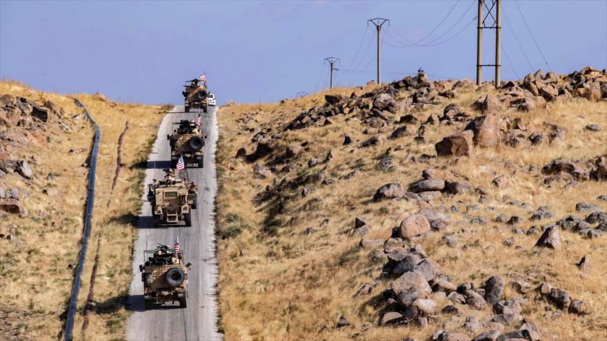 Ejército y civiles sirios frenan convoy de EEUU en Al-Hasaka | HISPANTV