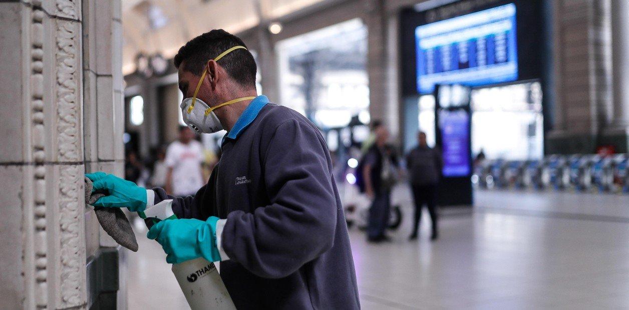 Ferroviarios salieron a controlar que los trabajadores en riesgo estén de licencia