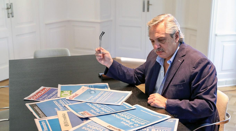 """""""No los vamos a abandonar"""", el mensaje de Fernandez a informales y monotributistas"""