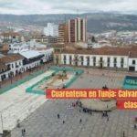 Colombia. Cuarentena en Tunja: Calvario para la clase popular