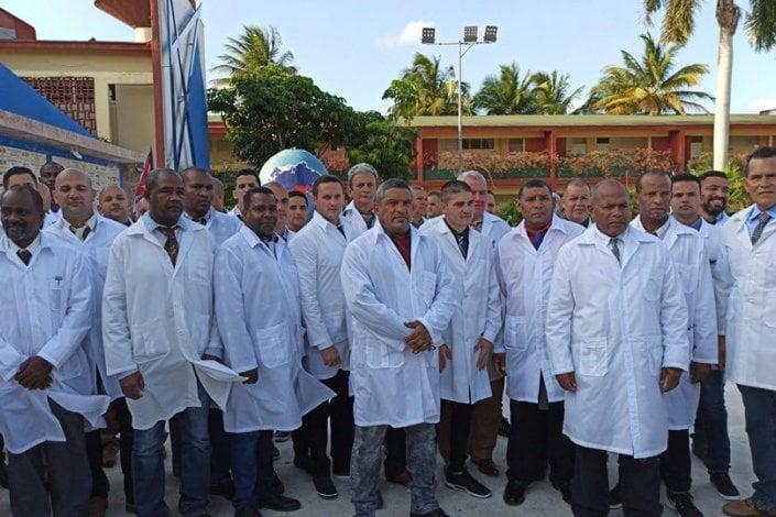 Médicos cubanos en Italia para combatir el coronavirus (vídeo) – La otra Andalucía