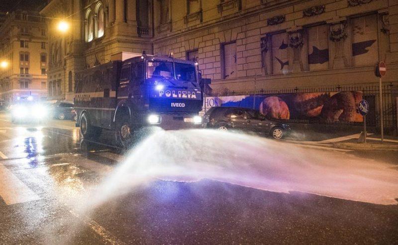 Tensión en Italia: ciudadanos llaman a rebelarse