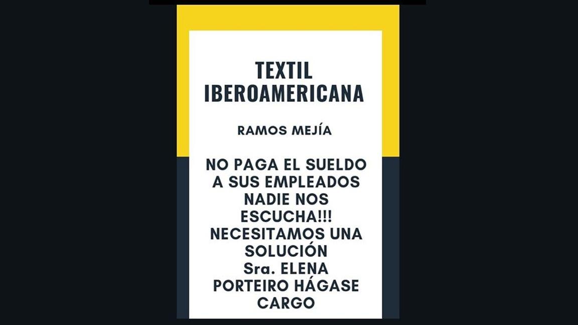La pionera Textil Iberoamericana agoniza y no paga las quincenas