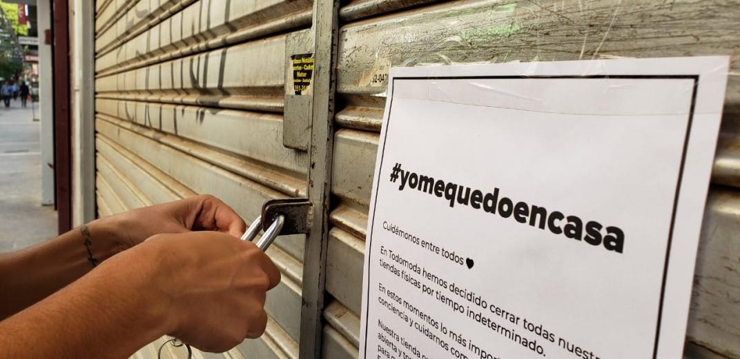 Sólo el 8% de los comercios están abiertos y advierten por cierres masivos si se extiende la cuarentena