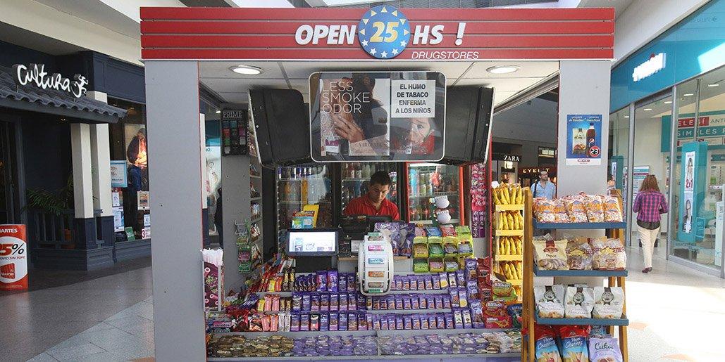 Despidos masivos en la cadena de kioscos Open 25
