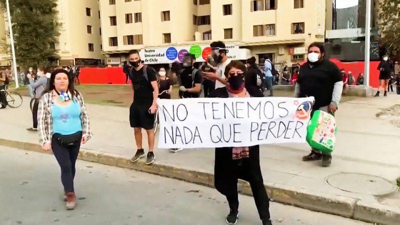 Arrestan a decenas de manifestantes en Chile mientras continúan las protestas contra el Gobierno (vídeo) – La otra Andalucía