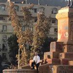 Chile. Piñera se toma una foto en la Plaza Dignidad y desata la ira en las redes sociales bajo cuarentena