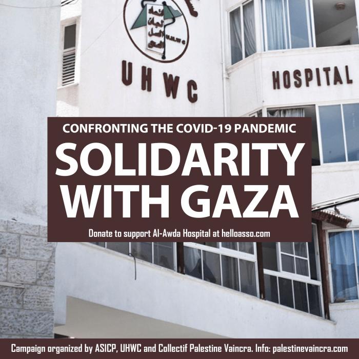Trabajadores de la sanidad en Gaza llaman a la solidaridad internacional ante el Covid-19 – La otra Andalucía