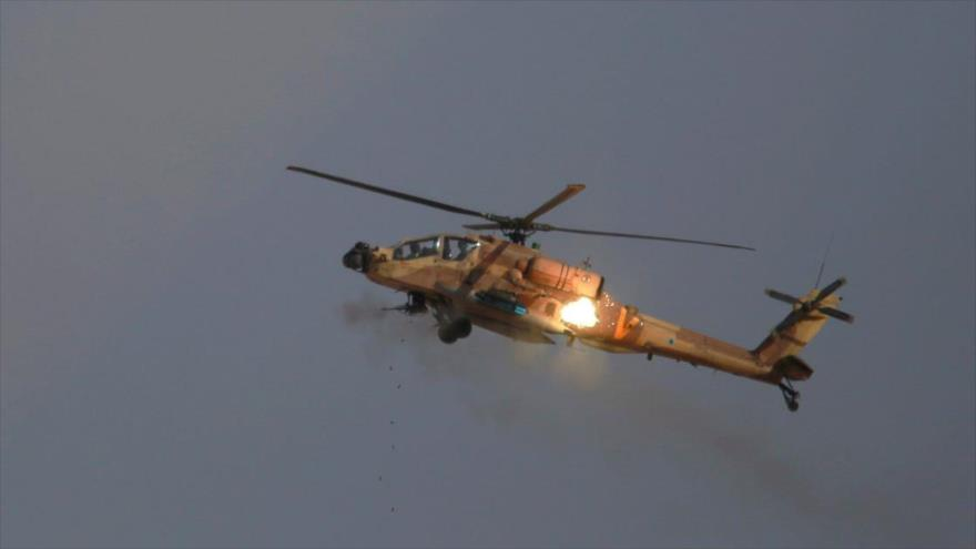 Helicópteros israelíes disparan misiles contra posiciones sirias | HISPANTV