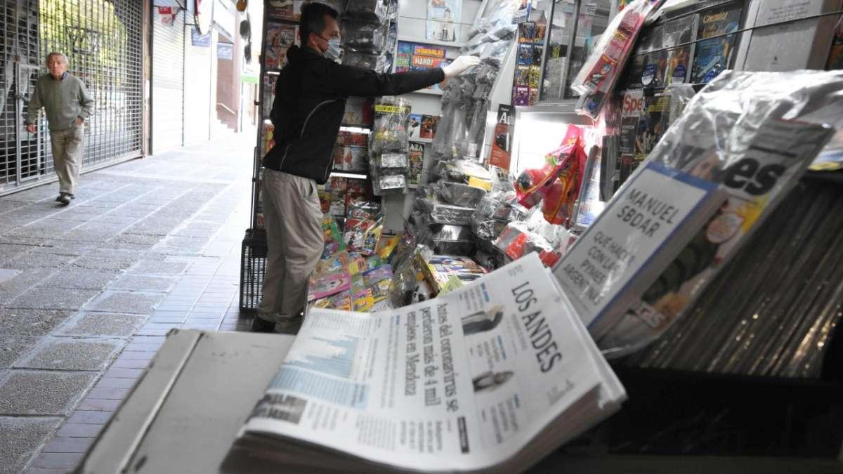 Preocupación en los canillitas porque las ventas cayeron 60%