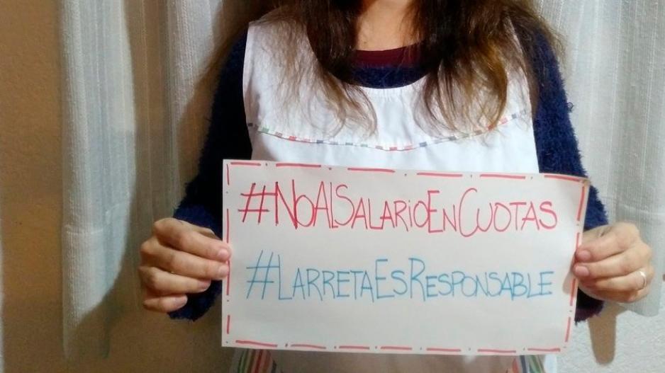 #LarretaEsResponsable