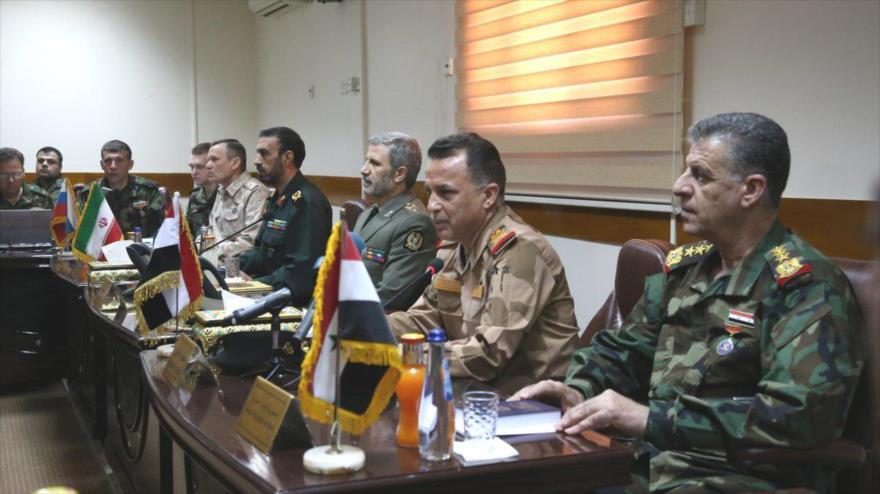 'Irán, Irak, Siria y Rusia jugaron rol clave en derrota de Daesh' | HISPANTV
