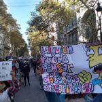Argentina. Trabajadores precaries se manifientan en Buenos Aires (fotos)