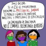 Argentina. Durmieron el proyecto del postítulo de ESI en un cajón