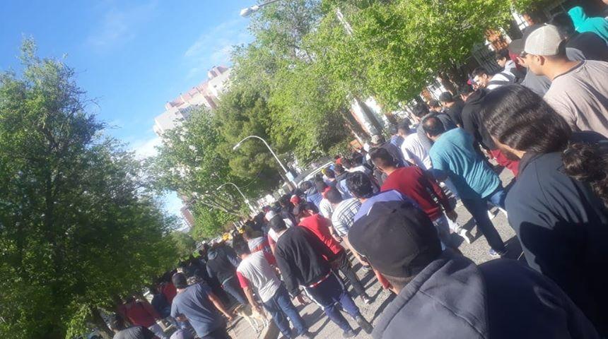 Desocupados de la construcción cortaron las rutas de Cutral Có y Plaza Huincul