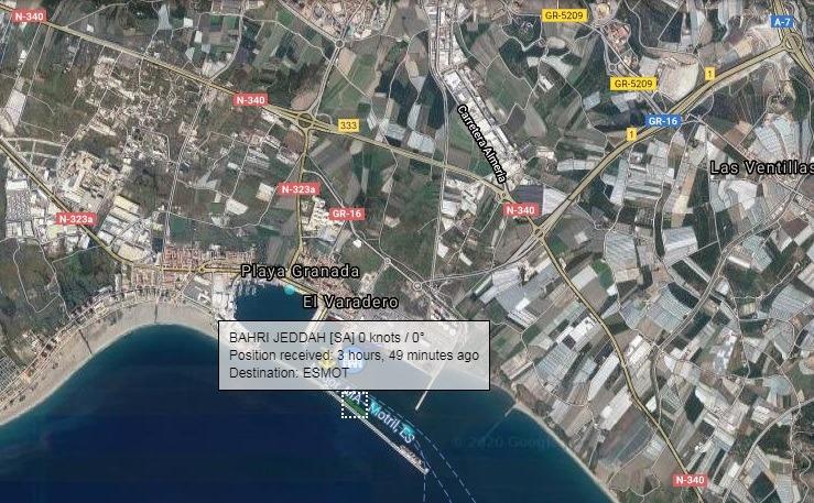 Nación Andaluza denuncia ante la Fiscalía a la Autoridad Portuaria de Motril por el atraque del barco Bahri Jeddah en el puerto – La otra Andalucía