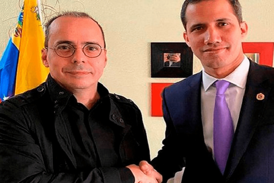 J.J.Rendón asesora al opositor venezolano Juan Guaidó.