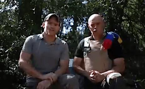 Goudreau junto a Nieto Quintero donde admiten su participación en las incursiones a Venezuela