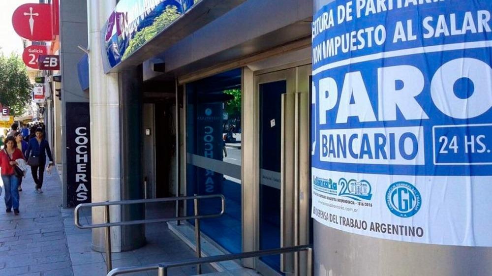 Córdoba paro bancario