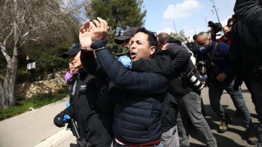 Israelíes protestan contra medidas dictatoriales de Netanyahu | HISPANTV