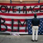 Estados Unidos. Los manifestantes no tienen líder, por lo que el bloqueo de la ciudad es difícil de resolver.