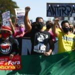 Brasil. Antifascistas y bolsonaristas manifestaron en Brasilia