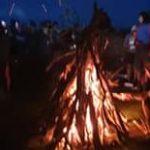 Euskal Herria. La solidaridad con presos y presas vascas ardió en hogueras en los montes