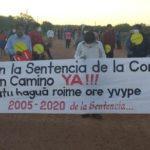 Paraguay. Segundo día de manifestación en Yakye Axa