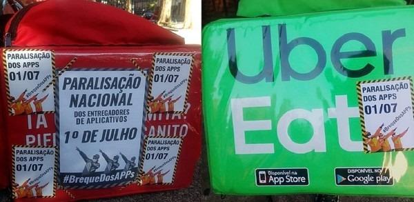 Brasil. Repartidores piden apoyo a la población para huelga