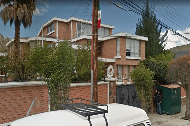 Bolivia, embajada, México, amenaza, allanamiento