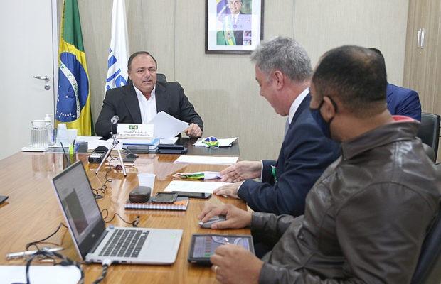Desde que se hizo cargo de la salud, Pazuello ha intentado implementar cambios en la difusión de información sobre la pandemia - Erasmo Salomão / MS