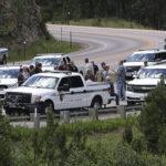 Estados Unidos. Enfrentamientos camino al icónico Monte Rushmore antes de un evento con Trump
