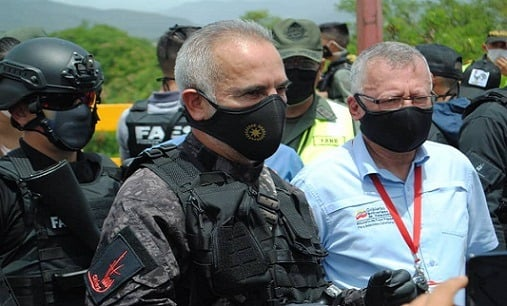 Venezuela. Freddy Bernal: «En la frontera con Colombia, defendemos la soberanía y la salud»