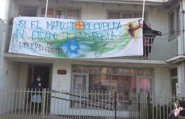 Nación Mapuche. Mapuches toman gobernación en Lebu y oficina de Gendarmería en Cañete en el día 81 de la huelga de hambre