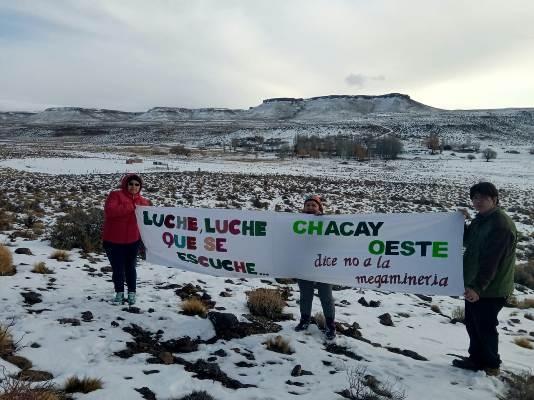 Nación Mapuche. Comunidades Tehuelche de la meseta del Chubut se pronuncian en contra de la megaminería