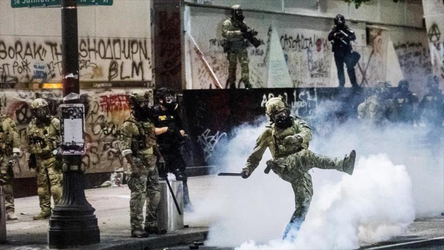 Federales en alerta para entrar en Seattle a fin de reprimir | HISPANTV