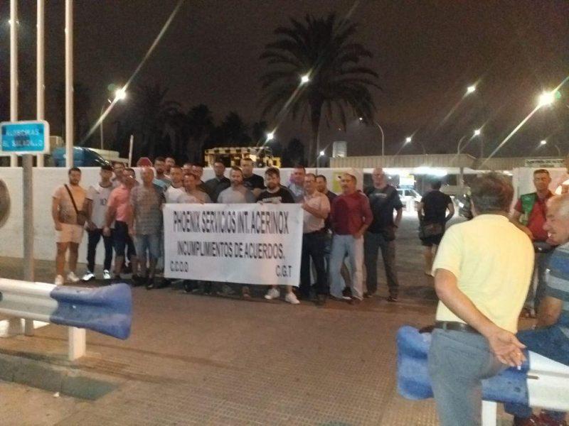 Advierten huelga indefinida en Phoenix (subcontrata de Acerinox) contra el ERE – La otra Andalucía