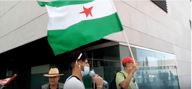 Concentración en el I aniversario del asesinato de Iliass Tahiri – La otra Andalucía