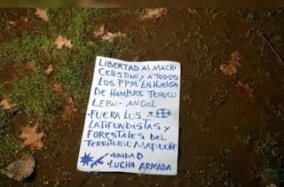 Cuatro ataques mapuche, uno de ellos con explosivos, en 24 horas – La otra Andalucía