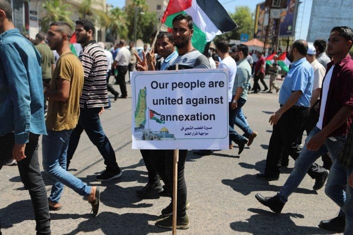 Miles de palestinos marcharon contra los planes sionistas de anexión – La otra Andalucía