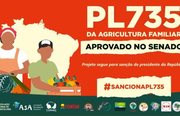 Brasil. Senado aprueba por unanimidad la Ley de Emergencia de Agricultura Familiar