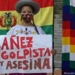 Argentina. Solidaridad con el pueblo boliviano y contra la dictadura (fotos)