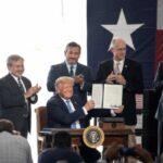 Estados Unidos. Petroleras apoyan económicamente la campaña electoral de Trump