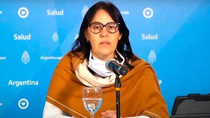 Zaida Gatti, coordinadora del programa de rescate y acompañamiento a las víctimas de trata de personas del Ministerio de Justicia (Télam)