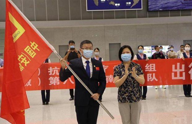 China. Envía equipo médico para ayudar lucha contra la pandemia en Sudán del Sur y Guinea