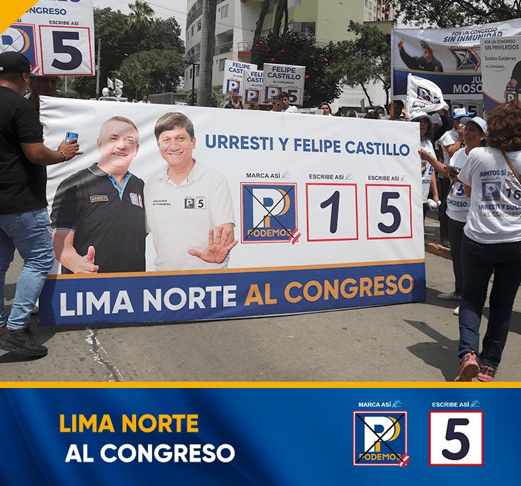 Fotografía del hijo del alcalde Felipe Castillo y del congresista Daniel Urresti.