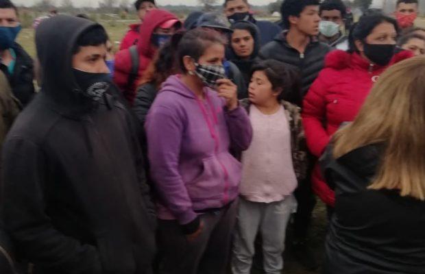 Argentina. La policía reprimió brutalmente una ocupación de tierras en Florencio Varela /Varios detenidos, entre ellos el abogado Eduardo Soares, de la Gremial
