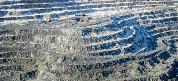 mina de amianto