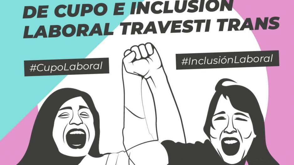 Ley nacional de Cupo Laboral e Inclusión Laboral travesti trans